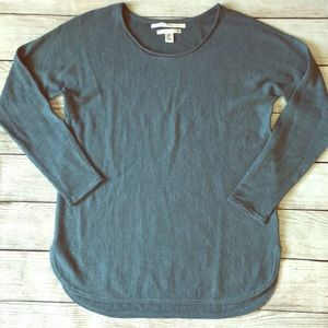 Max Studio Over Size Marino Wool Sweater Teal L